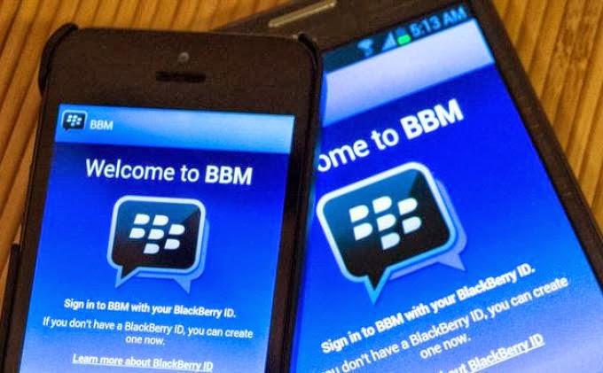 Cara daftar BBM Android dan iOS