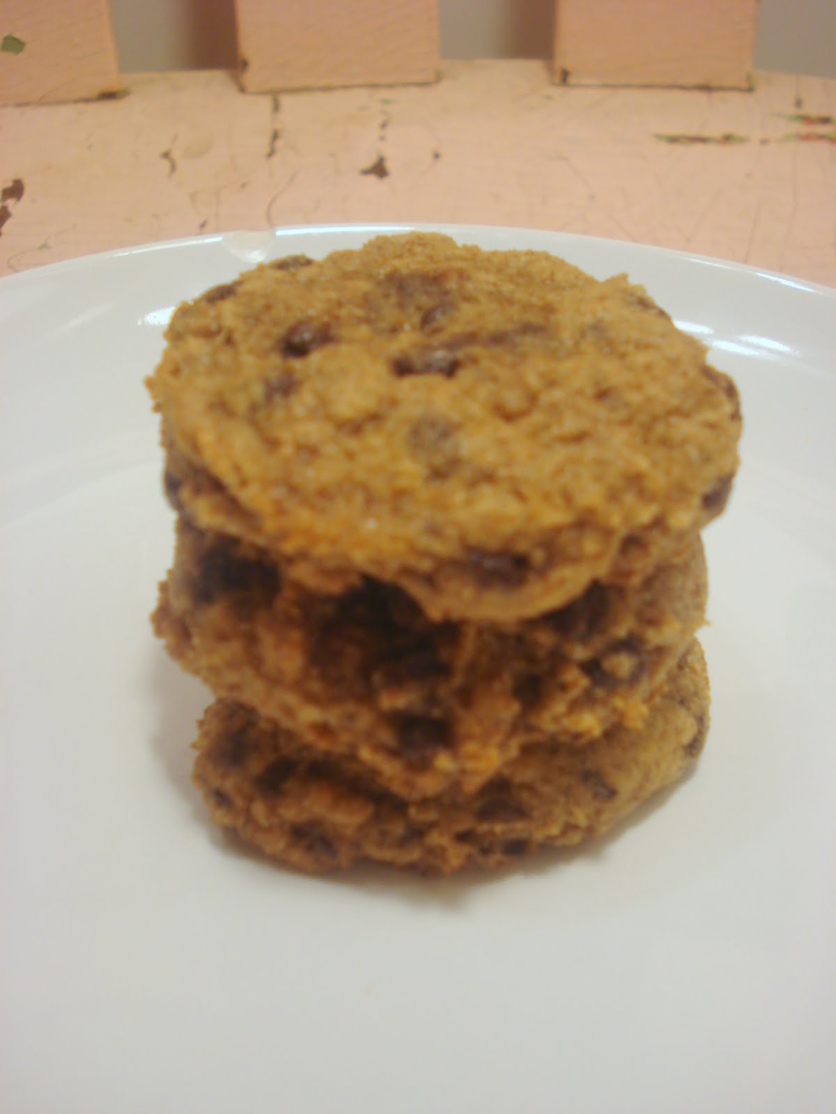 Dame Good Eats: Low-fat Pumpkin Chocolate Chip Cookies