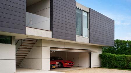 garasi minimalis modern