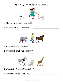 Ms. Lane\'s SLP Materials: Spatial Concepts: Questions about Object ...