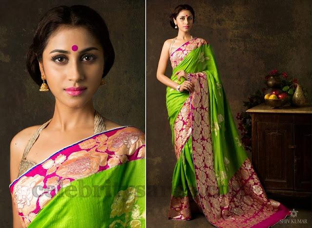 Latest Designer Saree by Bhargavi