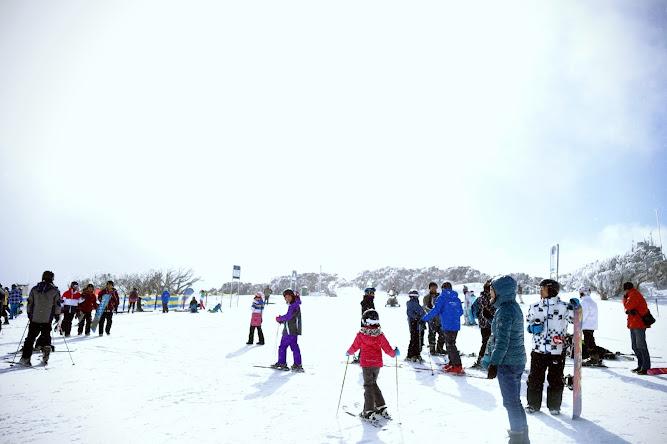 Snowboarding Perisher 2014 Snow