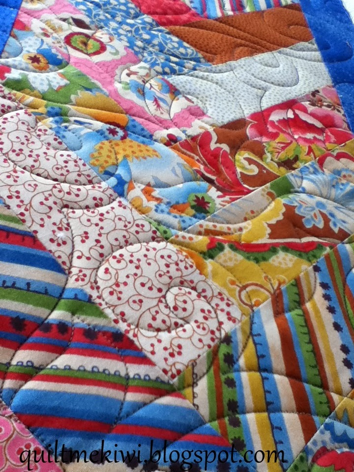 Quiltmekiwi Jelly Roll Layer Cake Quilt