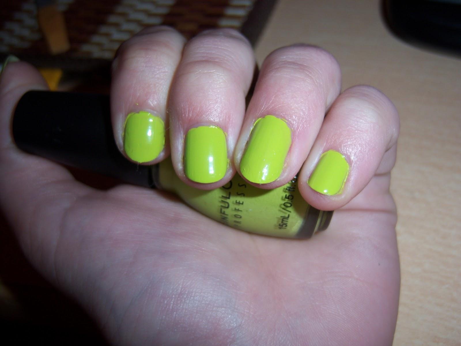 Diseño para uñas: Green dreams