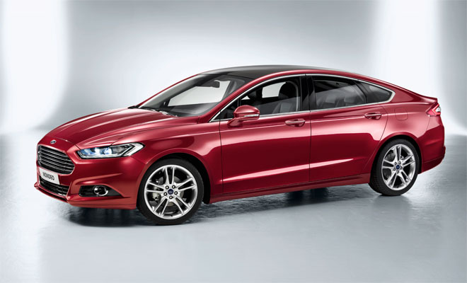 Ford Mondeo side front view