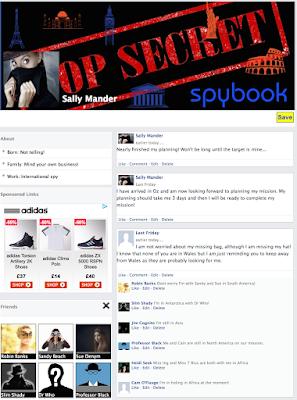 Sally Mander Spybook