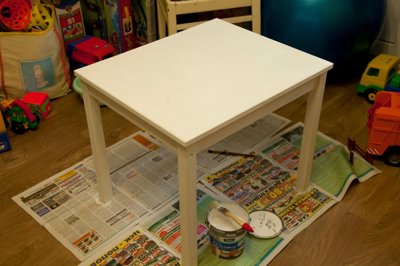 Детский столик икея.
