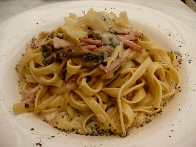cara membuat masakan italia fettucini simple resep