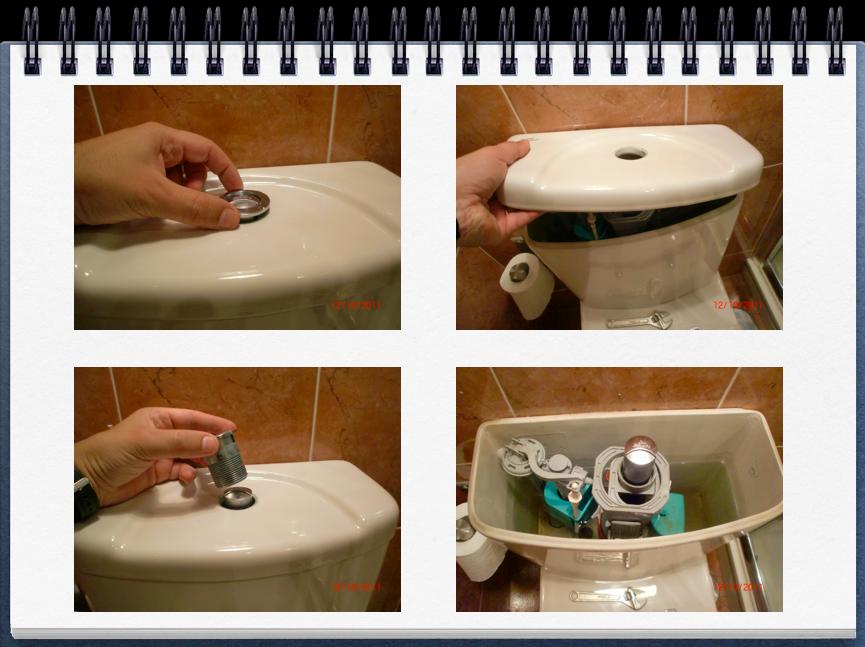 Ba o con ducha cambio real del mecanismo de la cisterna for Como arreglar una llave de ducha