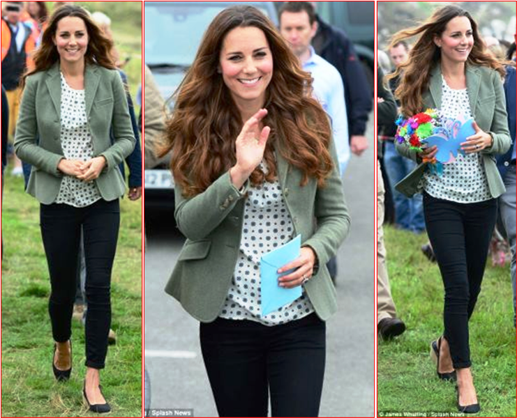 Kate Makes Her First PostBaby Appearance  yahoocom
