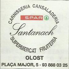 Supermercat Santanach