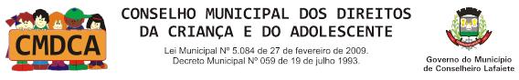 CMDCA - Conselheiro Lafaiete