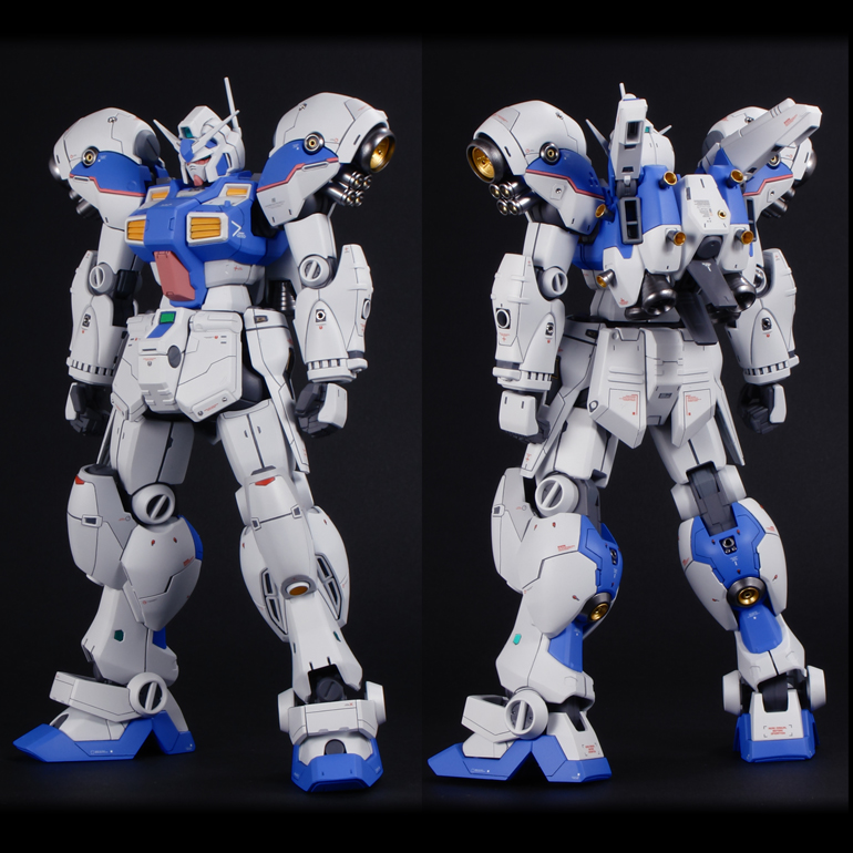 RE/100 RX-78 GP04G Gundam GP-04 (Gebera) - Painted Build