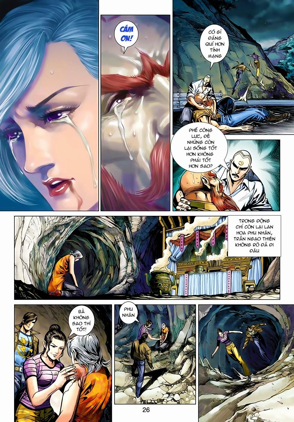 Tân Tác Long Hổ Môn chap 470 - Trang 26