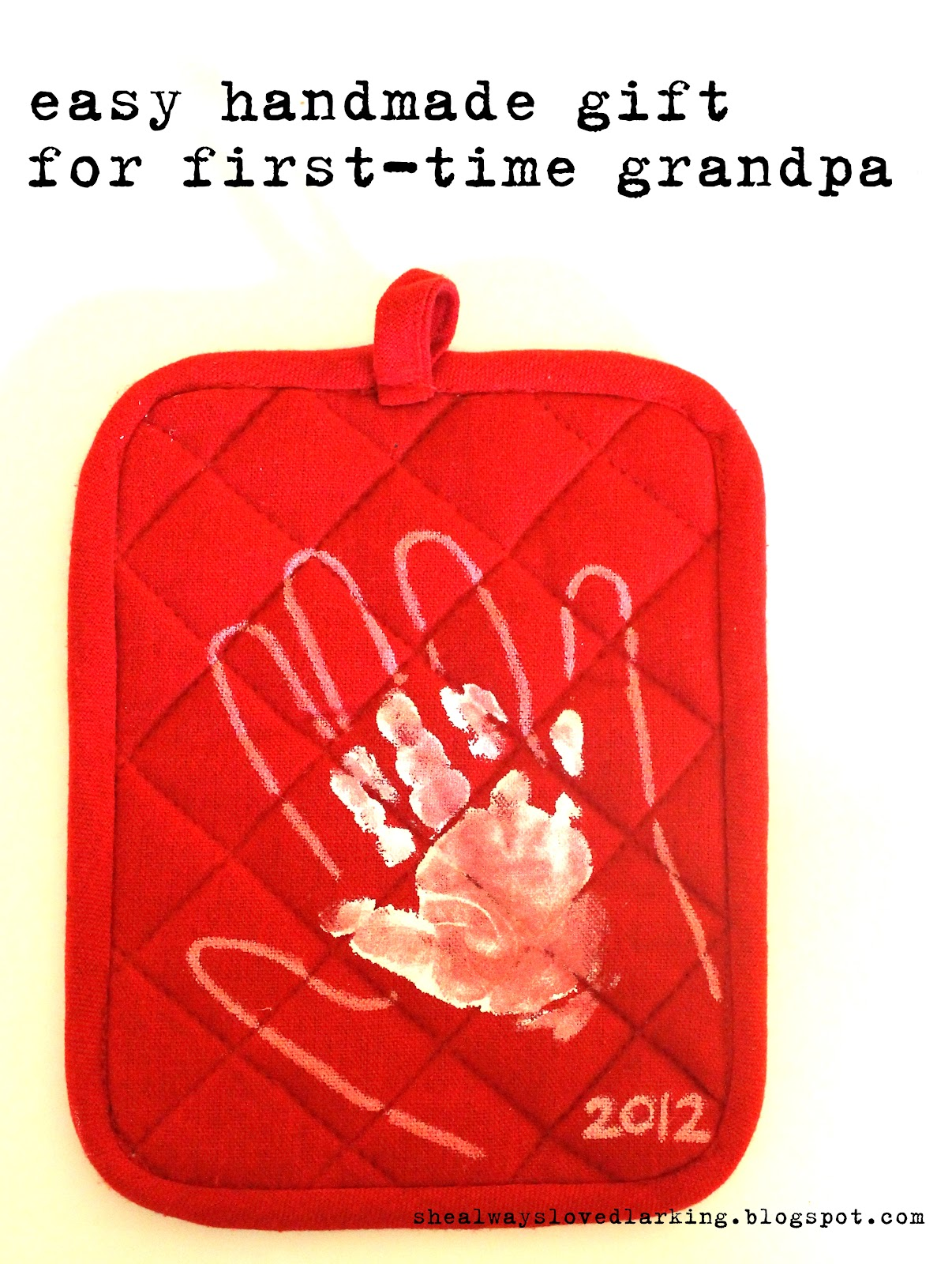 She always loved larking diy easy gift from parent for Father s day gifts for first time dads