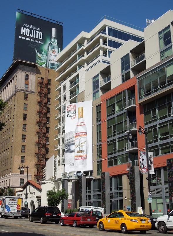 Stoli Most Original Accessory vodka billboard
