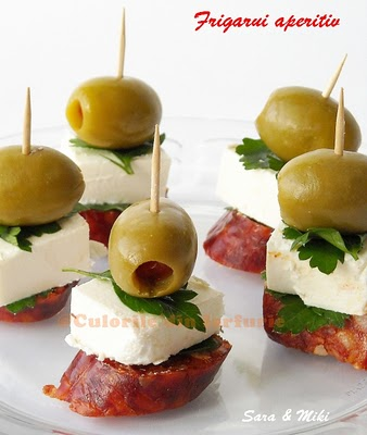 Party frosting party appetizers add a toothpick for Chorizo canape ideas
