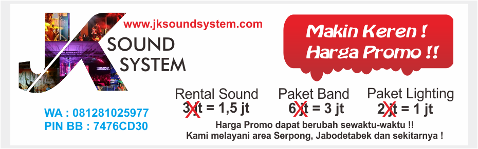 Rental Sound Keren !