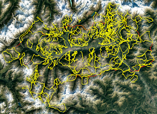 Mappa Interattiva Itinerari