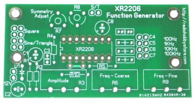 Diy Electronics Function Generator Diy Kit 20hz 100khz