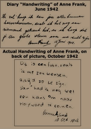 SNIPPITS AND SNAPPITS: THE ANNE FRANK DIARY FRAUD