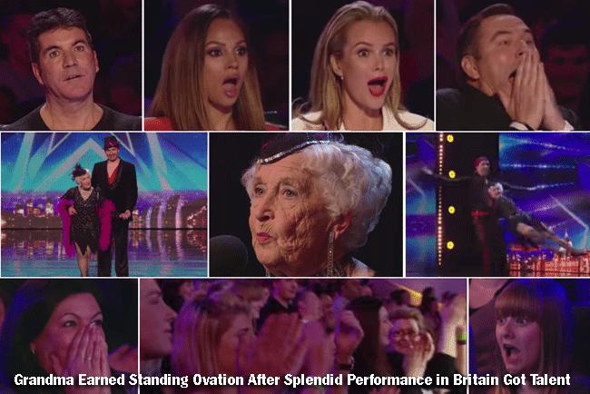 Grandma Earned Standing Ovation After Splendid Performance in Britain Got Talent