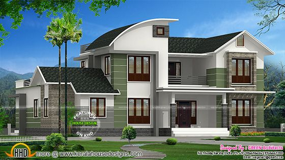 Modern mix 2200 sq-ft home