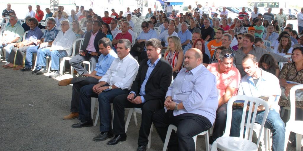 Público acompanha a programação do seminário