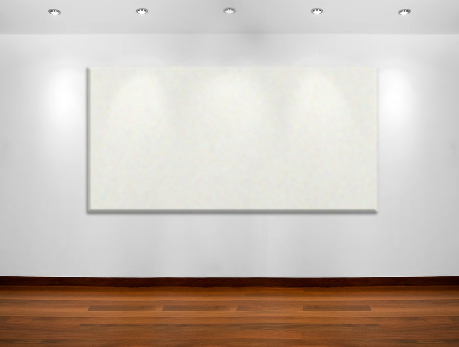 fresh coat of paint blank canvas compromising on modern art