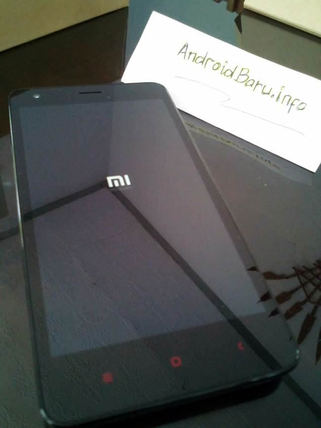 Foto Unboxing Xiaomi Redmi 2 Prime Dark Grey Lengkap