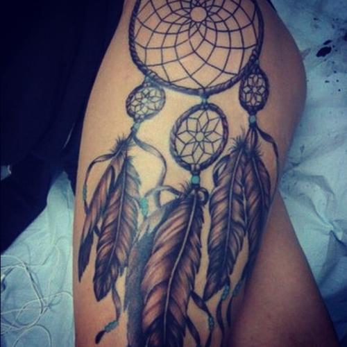 Dream Catcher Tattoo Design Idea: Flames-onthesideofmyface: Dreamcatcher Tattoo Ideas