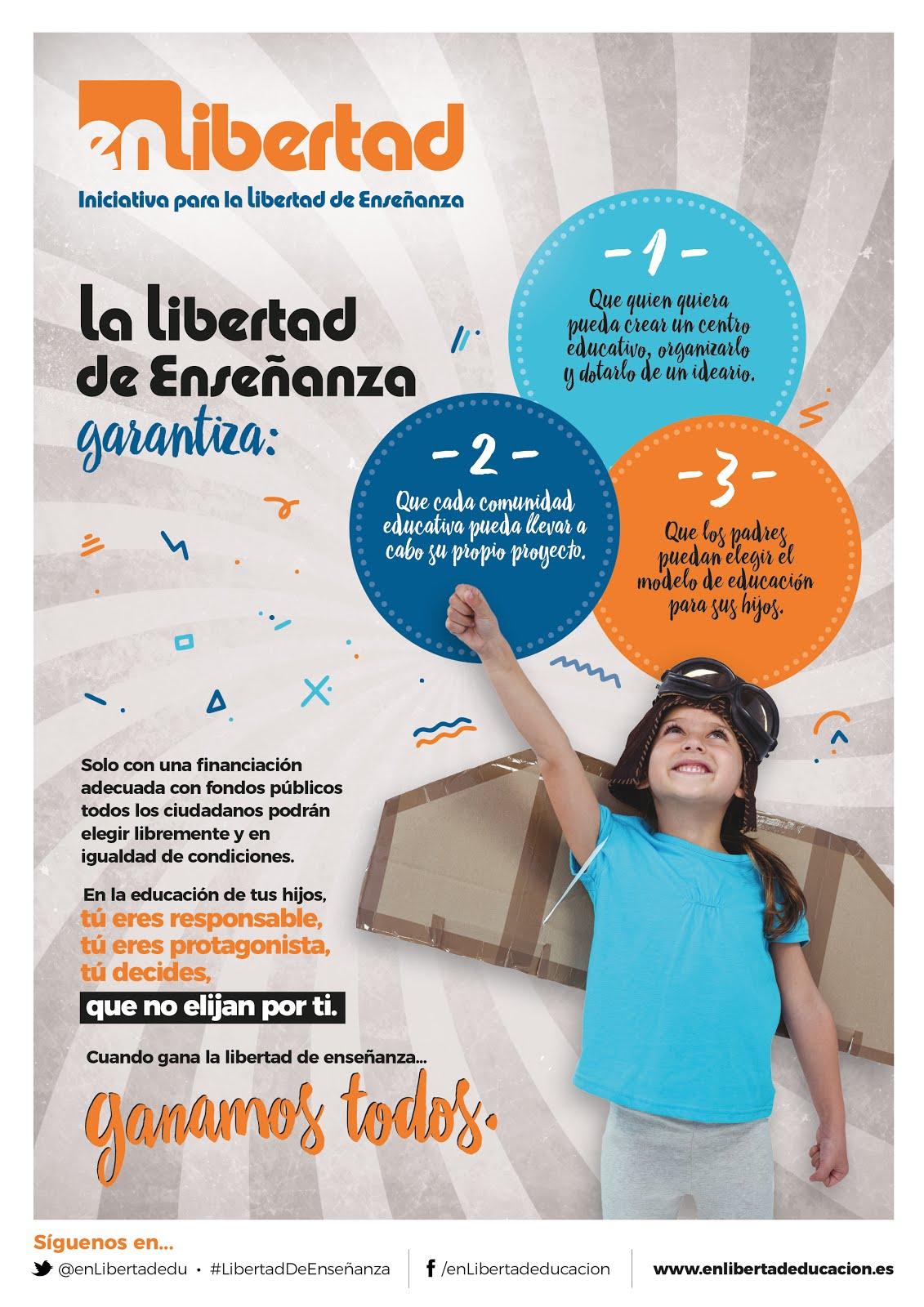 Por la libertad de enseñanza