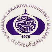 Bahauddin Zakariya University Multan MA Result 2016, Part 1, Part 2