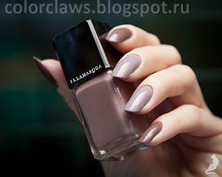 Illamasqua Stagnate + Orly You're Blushing