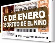 LOTERIA DEL NIÑO AMPA S. Ana. Número 47.034