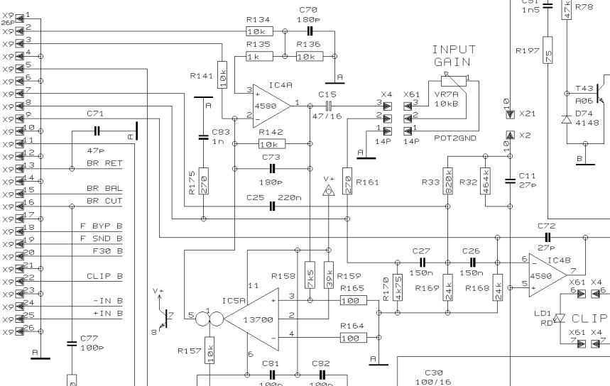 closet junk: ssf / hp filter mod for behringer ep2500 220 amp schematic wiring #7