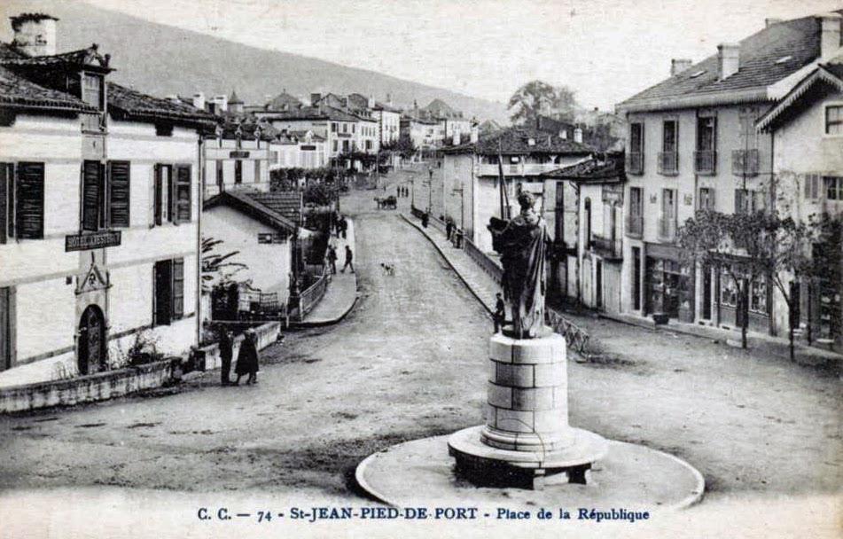 St jean pied de port donibane garazi - Saint jean de pied de port compostelle ...