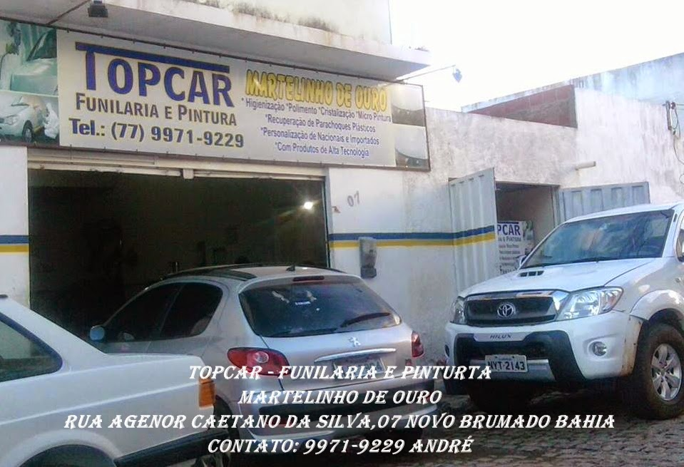 Top Car - Funilaria e Pintura
