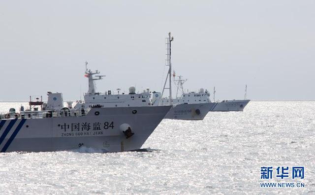 Lực lượng Hải giám Trung Quốc tác oai tác quái trên Biển Đông, nhiều lần xâm phạm chủ quyền của Việt Nam tại hai quần đảo Hoàng Sa và Trường Sa