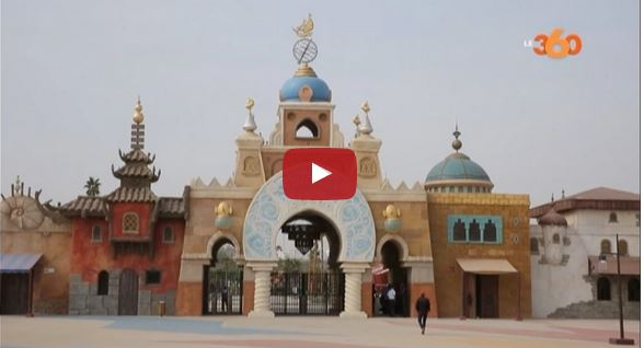 فيديو حصري. شاهد أولى صور حديقة سندباد بالبيضاء