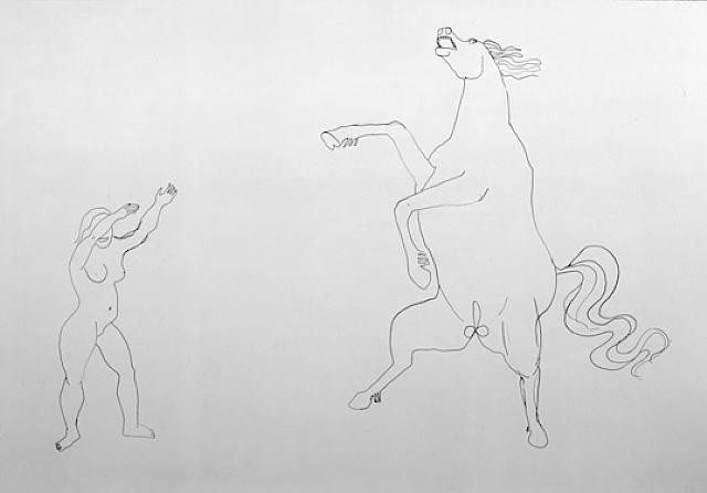 Contour Line Drawing Definition : Rita s art portfolio december