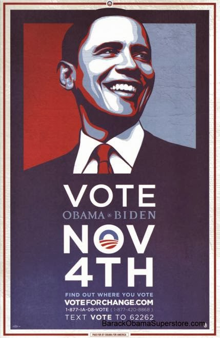 Creativity Journal: Week 3 Obama Campaign Poster Official