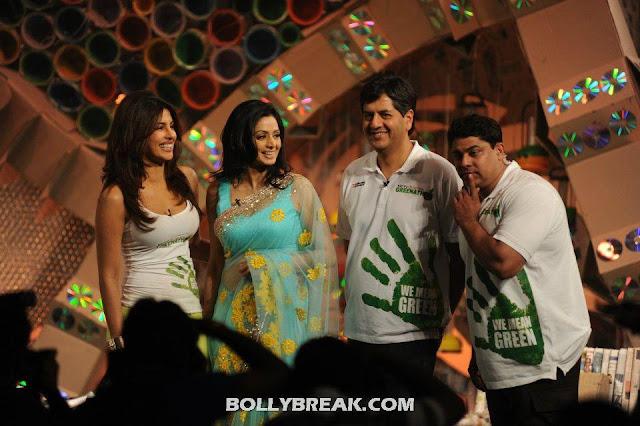 Sridevi, Priyanka Chopra  - (2) - Sridevi, Priyanka Chopra & Shweta Tiwari at Greenathon 2012.