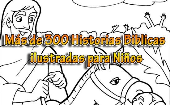 Más de 300 Historias Bíblicas ilustradas para Niños | Recursos ...