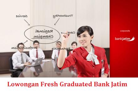 Lowongan Fresh Graduated Bank Jatim Juni 2014
