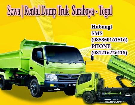 Rental Dump Truk Surabaya - Tegal