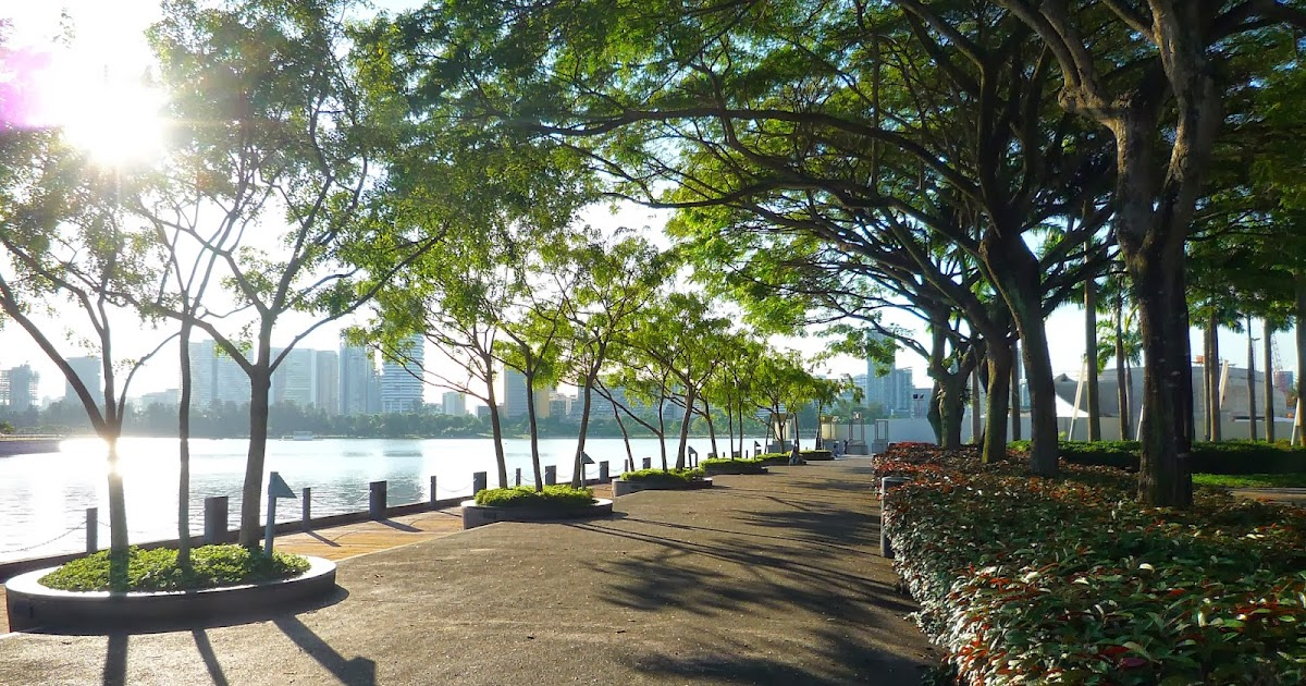 The Garden of Forking Paths: Kallang River