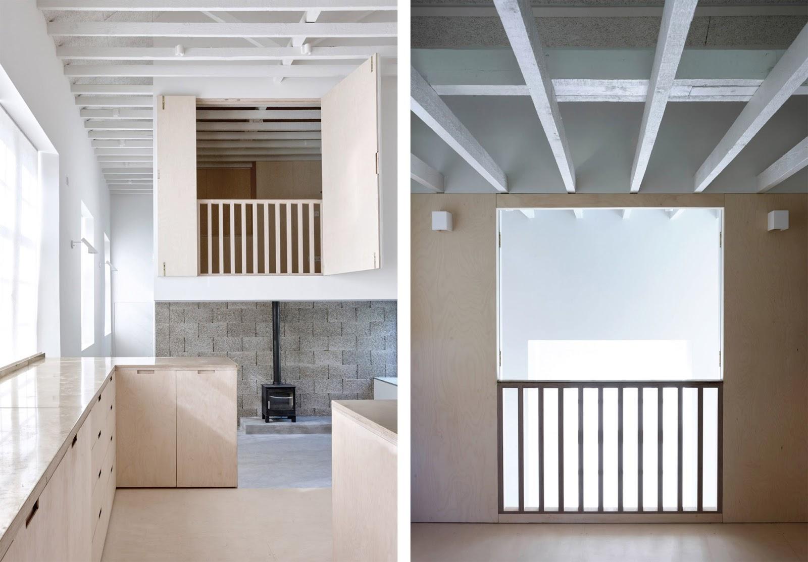 Loft con camera soppalco e cucina su misura by McLaren Excell  ARC ART blog ...