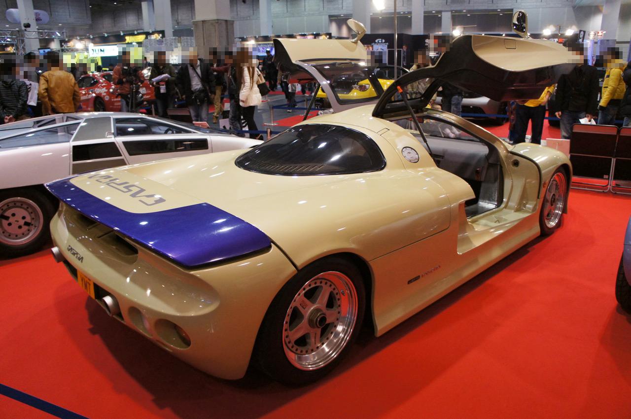 Jiotto Caspita, japoński prototyp, lata 90, silnik V10, supercar, JDM, unikalny, rare