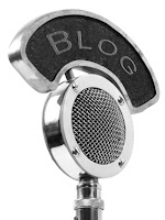 Guest blog with microphone